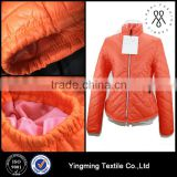 Wholesale colorful women's down jacket coat, fashion lady's down jacket for winter