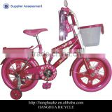 HH-K1622 16 inch balance kid bike with beautiful tassels from China factory