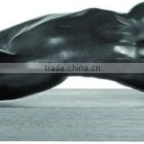 Famous bronze Rodin Nude woman art sculpture