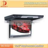 10.2 inch roof monitor new small size design /car flip down lcd monitor