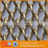 Hebei Shuolong provide metal architectural cascade coil metal mesh curtain drapery / Architectural metal drapery