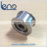 608ZZ bearing bore aluminium Belt tensioner idler pulley
