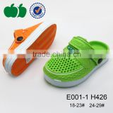 Lovely kids high quality new style plastic eva clogs