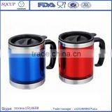 hand mug hot coffee cups travel mugs double wall plastic small mugs stainless steel cups