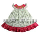 Beautiful whale hand smocked bishop dress
