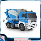 Best Christmas gift for kids! 27MHz 8CH radio control concrete mixer truck, 1/20 rc construction toy trucks