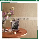 stock lot non woven wallpaper, mocha simple plain wall mural for backdrop , decor wall sticker brands