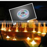 2012 hot sales high power 9*1w underwater solar pool light factory price