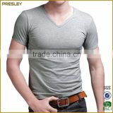 2016 Mens Round Neck Men T-shirt Short Sleeve With Silkscreen Printing Logo Cheap T-Shirts For Men                                                                         Quality Choice