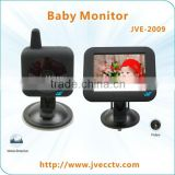 Wireless Digital Audio & Video LCD Baby Monitor With 3.5-Inch LCD Screen Monitor JVE-2009