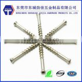 torx flat head wood screw for wooden floor