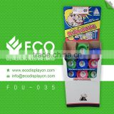 Customized CMYK Corrugated Paper Cosmetic Displaying Stands for Make Up Shops                                                                         Quality Choice