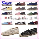 2016 New Fashion canvas shoes casual wholesale canvas shoes Rubber Sole All Colors All size plimsolls