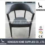 hotsale garden furniture cafe shop used PE rattan wicker chair