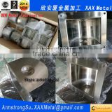 XAX103RH OEM metal fabrication 304 316 stainless steel red toilet paper roll holder recessed Toilet Roll Holder