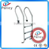 Factory supply 3 steps swimming pool stainless steelstep ladders