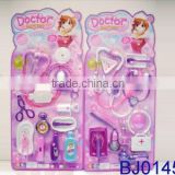 cheap wholesale plastic toy pink kids doctor kit