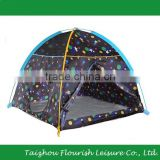 Foldable Children Play Dome Tent With Glow-in-the-Dark Galaxy Printing                                                                         Quality Choice