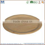 factory direct customed handmade unfinished wooden pizza plate