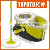 Stainless Steel Pole and Microfiber mop head