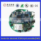 Electronic guitar PCB assembly, pcba service For Digital Electrical Meter Device