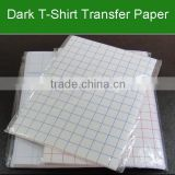 A3 A4 150g 300g Laser Light Color and Dark Color Heat Transfer Paper For T-shirt