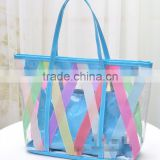 2016 2016 stock pvc bag customed logo pvc bikini bag