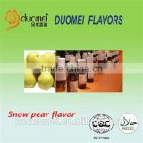 Snow pear flavor artificial fruit fragrance food grade flavor for drink