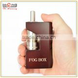 Yiloong new wood mod fog box mod as hingwong mec mod for dry herb vaporizer rex