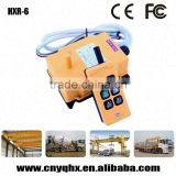 DC/AC supply 4-16 buttons remote control cover crane