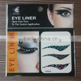 2016 hot sale eco-friendly high quality fashion eyebrow tattoo stencil