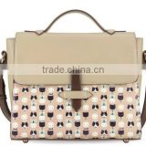 2015 ladies fashion handbag animal printing unique bag