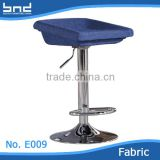 Simple suqare wholesale bar metal chair with chromed legs                                                                         Quality Choice