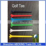 Super High Quality 70mm Plastic Golf Tees Wholesale 10000pcs/Carton