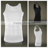 Useful 2015 Men's Slimming Body Shaper Belly Fatty Underwear Vest Shirt Corset Compression