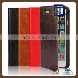 Phone Case Wallet Leather Flip Cover for Oppo R7, for Oppo R7 Leather Case
