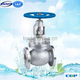 BD VALVULA Standard steel angle globe valve with casted steel wheel