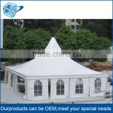 6082-T6 CE/TUV Heavy duty 10x10 aluminum frame waterproof industrial large tent for storage