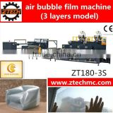 Plastic ZT180-3S protective packing LDPE air bubble film machine with high technology