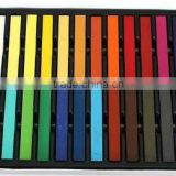 Tooooop selling 6/12/24/36 colors per set Temporary Color Hair Chalk In Gift Tin Ready colorful hair coloured hair chalk