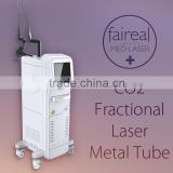 2015 CO2 Fractional Laser RF Tube Scar Removal 15W(20W) Skin Resurfacing 80w Co2 Laser Cutting Machine Face Whitening