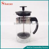 New 350ML Coffee Plunger Glass French Press Coffee Maker With Filter