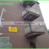 security alarm fence with high voltage power shocking fence ---Tongher