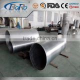 China Silver color alloy aluminium tube 200mm