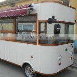 2016 Stainless Steel Luxury Street Style Mobile Coffee Cart for Sale