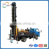 KW20C 200m depth 115 ~ 220mm diameter truck mounted multifunctional geothermal water well drilling rig