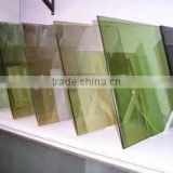 4mm-19mm Clear Tinted Gold blue sheet class bronze grey green Reflective Architecture Glass with AS/NZS2208