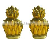 Pineapple Bookend For Your Office Use Desk