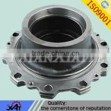 ductile iron casting resin sand casting cnc machining for auto wheel parts cast iron hub