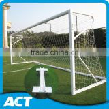 Full size portable football goal post for junior football clubs and professional stadiums